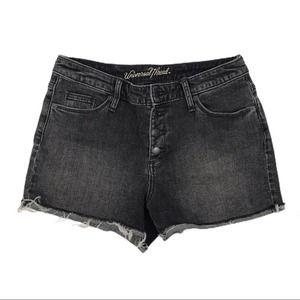Universal Thread High Rise Shortie Jean Shorts